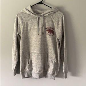 Small garage boyfriend hoodie